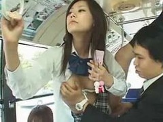 Asian Japanese Public Small Tits Student Teen Uniform