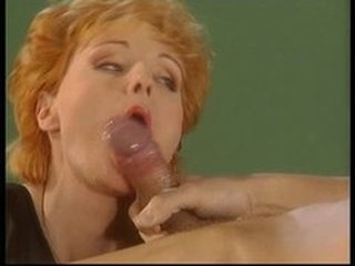 Cumshot European German  Redhead Swallow