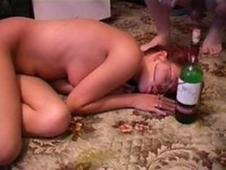 Amateur Drunk Sleeping Teen