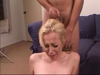 Blonde Submissive Humiliated and Rough Fucked