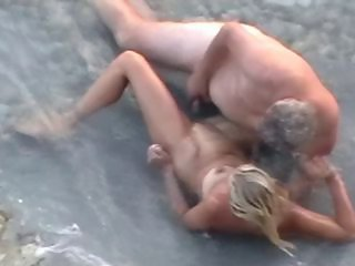Beach Nudist Older Outdoor Voyeur Wife