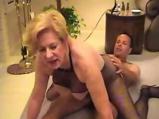 Sexy Mature Diane Richards Banging Fan mature mature porn granny old cumshots cumshot