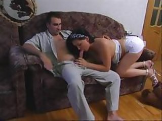 Hot Chick Fucked On Couch