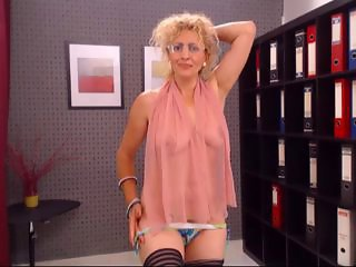 Glasses Lingerie  Office  Secretary