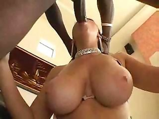 Amazing  Big Tits Blowjob Interracial  Natural Pornstar