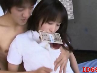 Asian Cash Japanese Teen