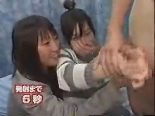 Asian CFNM Handjob Japanese Teen