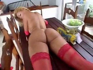 Amazing Ass Brazilian Latina  Stockings