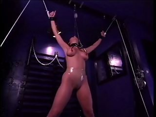 Bound, clamped and tortured
