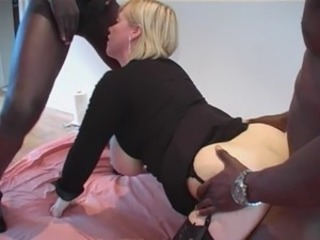 BBC-Addicted Blonde MILF