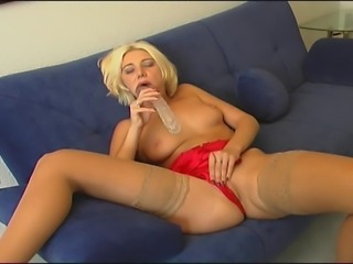 Dildo European German  Panty Stockings