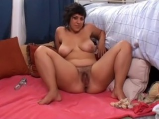 Big Tits Chubby Mature Toy