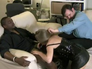 "Hubby Helps Wife Blowing Black Dick"" target=""_blank"