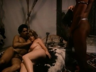 European French Interracial Threesome Vintage
