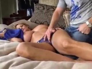Big Tits  Mom Panty Sleeping