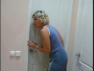 "Mom Spying On Son Will He Was In Shower Than She.."" target=""_blank"