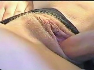 Pussy pumped full of cum