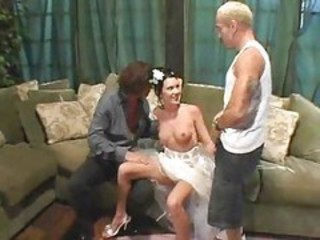 Bride Teen Threesome