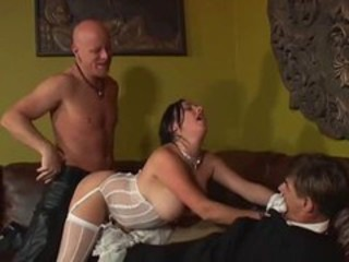 Bride Chubby Cuckold Hardcore Lingerie  Stockings
