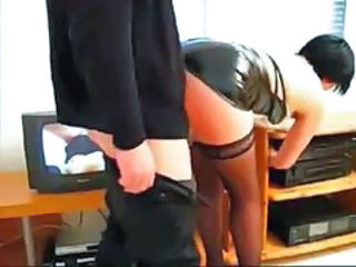 """Dirty secretary invites her boss for a cup of coffee and fucks him"""" target=""""_blank"""