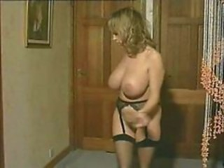 Big Tits Chubby Dancing  Natural Solo Stripper Vintage