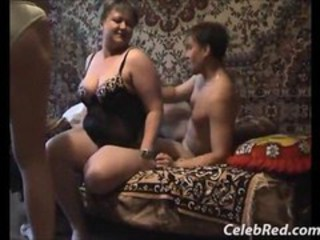 Amateur Chubby Homemade Lingerie  Threesome