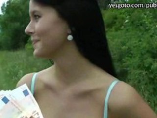 Amateur Cash Outdoor Pov Teen