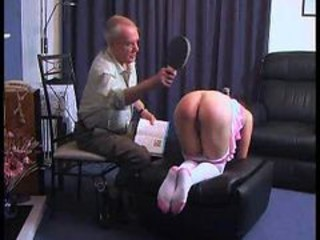 "Grandpa Punishes A Girl"" target=""_blank"