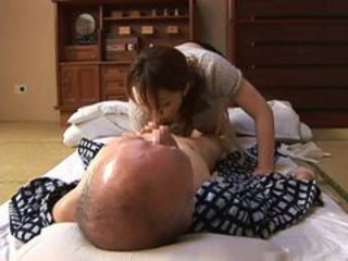 Asian Blowjob Daddy Daughter Old and Young Teen
