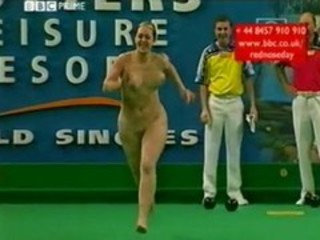 Funny Nudist Sport