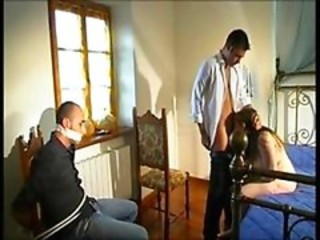 Blowjob Cuckold European Italian Wife