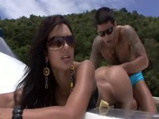 Amazing Ass Brazilian Latina  Outdoor Pornstar
