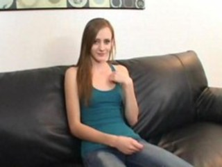 "Cute Red Head Teen First Casting"" target=""_blank"