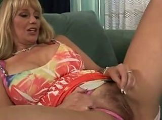 Hairy Masturbating Mature Panty