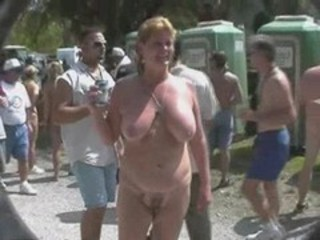 Amateur  Nudist Outdoor Public