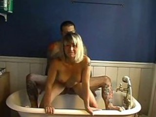 "Bathroom Fucking (tattooed Couple)"" target=""_blank"