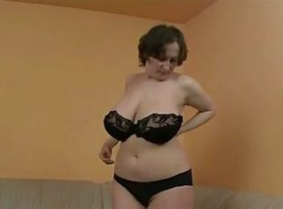 Big Tits Chubby European German Lingerie