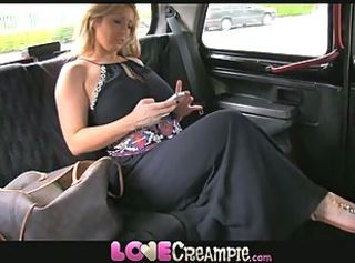 Love Creampie Busty and naughty British mom lets taxi driver cum in...