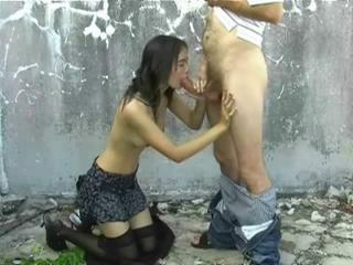 Asian public blowjobs