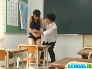 Schoolgirl In A Tight Outfit Gets Fucked
