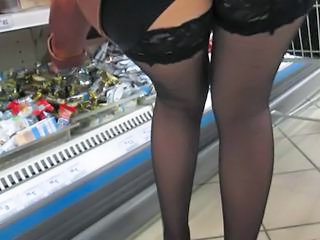 Supermarket stockings upskirt Sex Tubes