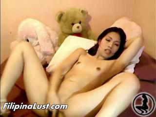 Asian Masturbating Skinny Small Tits Teen Thai Webcam