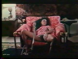 Ebony Hairy Masturbating Vintage