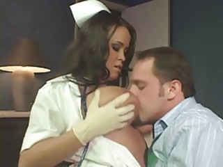Big Tits  Nurse Uniform