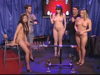 3 Naked Girl On TV