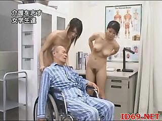 Japanese AV Model naked and playing
