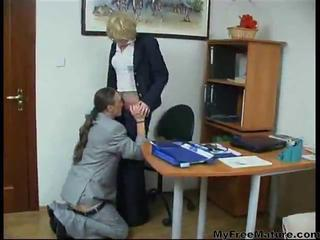 Granny Secretary Getting Fuck...