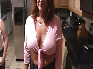 Two Milfs Jerking and Blowing