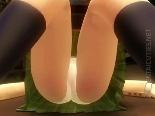 Hentai nympho gets pussy fucked
