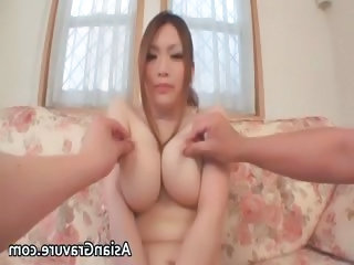 Great brunette asian babes with big tits part3